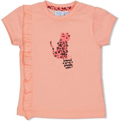 Feetje T-shirt - Leopard Love