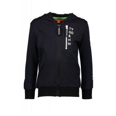T&v hoody Roma, zipper