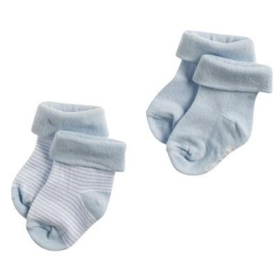 Noppies Socks 2pack Guzzi Light Blue