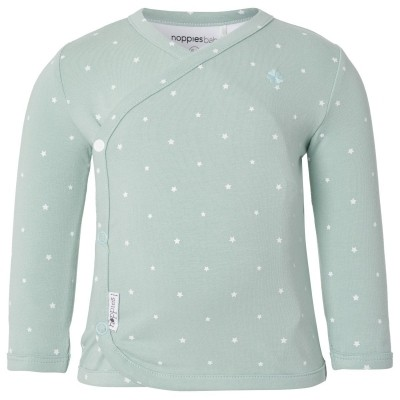 Noppies Longsleeve Anne Grey Mint