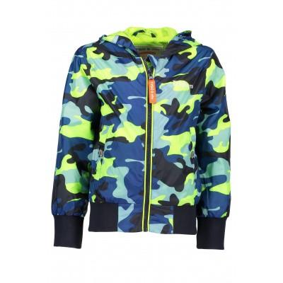 T&v AOP hooded jacket