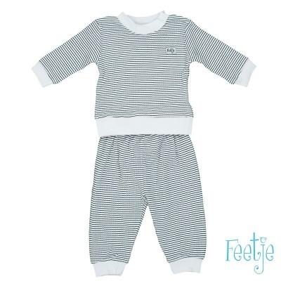 Feetje Pyjama Wafel Marine