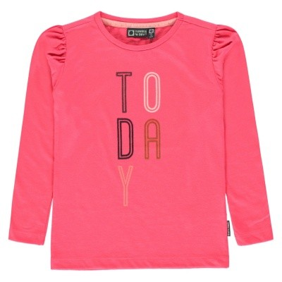 Tumble Girls T-shirt Lm O-hals