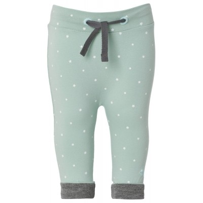 Noppies broekje Bo grey mint