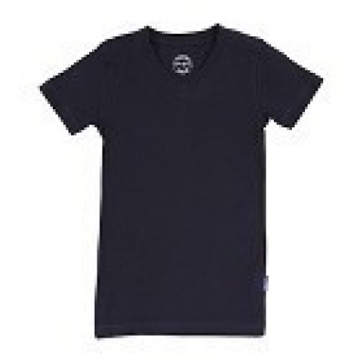Claesens V-neck T-shirt Navy