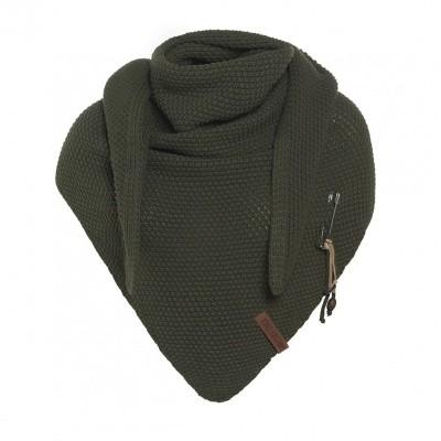 Knitfactory Coco shawl Groen