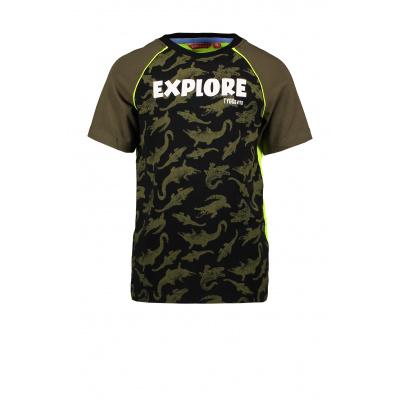 T&v Raglan T-shirt AO CORODILE EXPLORE