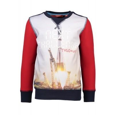 T&v sweater digital print NEXT CHALLENGE