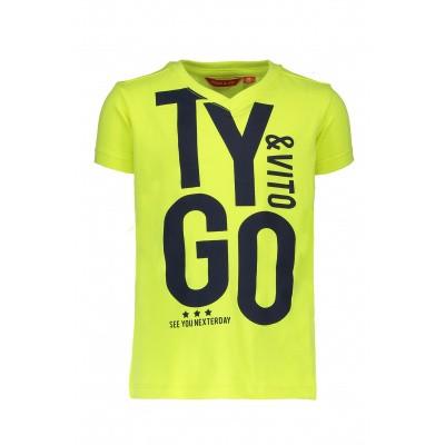 T&v neon t-shirt 'TYGO&vito