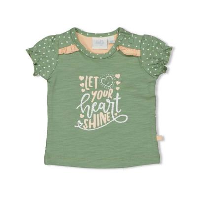 Feetje T-shirt Shine - Hearts