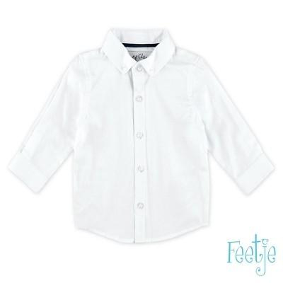 Feetje Overhemd lange mouw-Wit