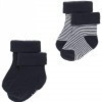 Noppies Socks 2pack Guzz navy