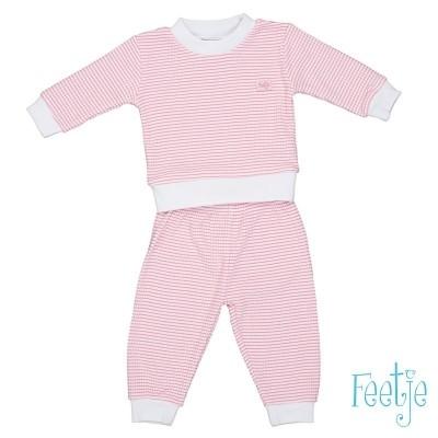 Feetje Pyjama Wafel Pink