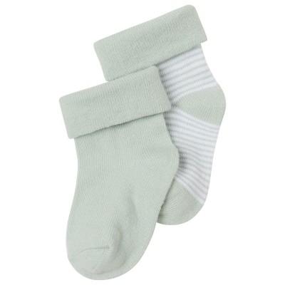 Noppies Socks 2-pck Zoë stripe Mint