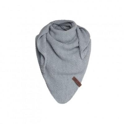 Knitfactory Junior Shawl Light Grey