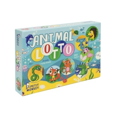 Foto van Petit Monkey | Speelgoed | Animal lotto
