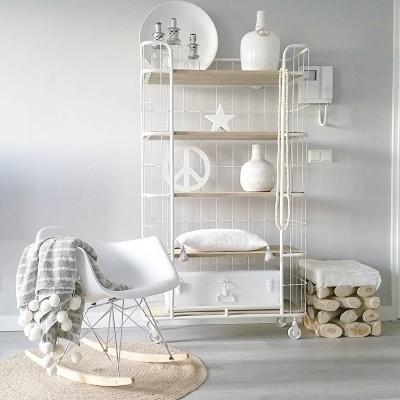 DSW | Designstoel | Schommelstoel Wit