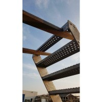 Afbeelding van Gegalvaniseerde trap