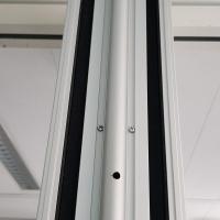 Afbeelding van Schuifwand, vouwwand met rail