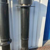 Afbeelding van Rookgas afvoeren dakdoorvoer rookkanaal