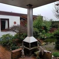 Afbeelding van RVS tuin kachel haard