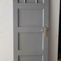 Afbeelding van Paneeldeur met geslepen glas