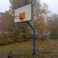 Afbeelding van Basketbal bord met paal