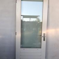 Afbeelding van Hardhouten buitendeur met driepuntsluiting