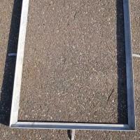 Afbeelding van kruipluik frame rooster, matrand, kruipgat rand