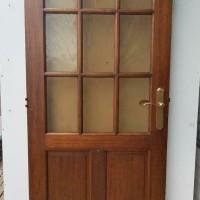 Afbeelding van Binnendeur met enkelglas