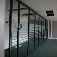 Afbeelding van Glazenwanden kantoorwanden, syseemwanden, puien en deuren merk Brakel