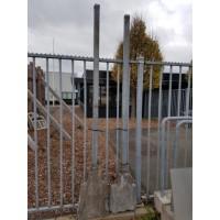 Afbeelding van Gegalvaniseerde hekken en staanders