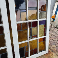 Afbeelding van Glas in lood ramen kardinaalglas ( adv 097 )
