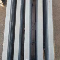 Afbeelding van Gegalvaniseerde staanders, leuning, balustrade