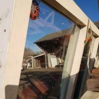 Afbeelding van Raamkozijn loopdeur dubbelglas