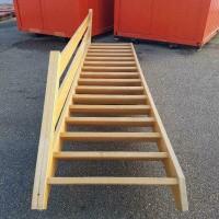 Afbeelding van Molenaarstrap rechte trap