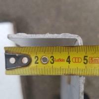 Afbeelding van Traanplaat aluminium traptreden