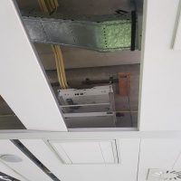Afbeelding van Beamerschermen en beamer liften
