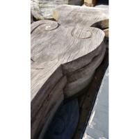 Afbeelding van Eiken houtsnijwerk tafelpoten