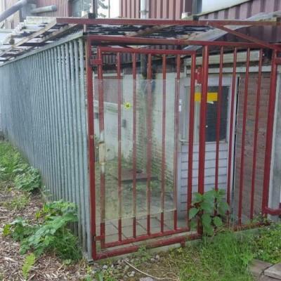 Foto van Gegalvaniseerde hekken