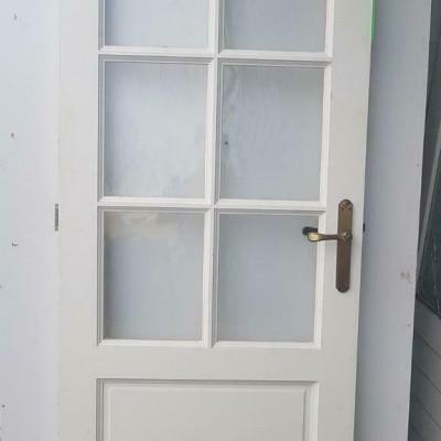 Binnendeur enkelglas