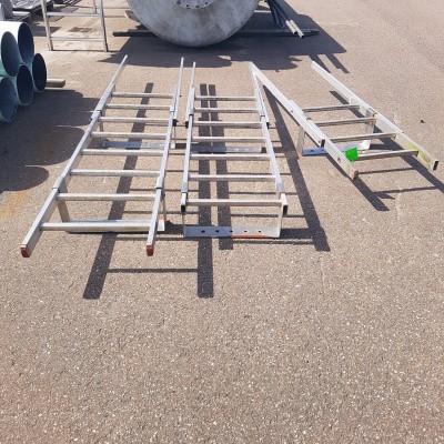 Aluminium Trappen