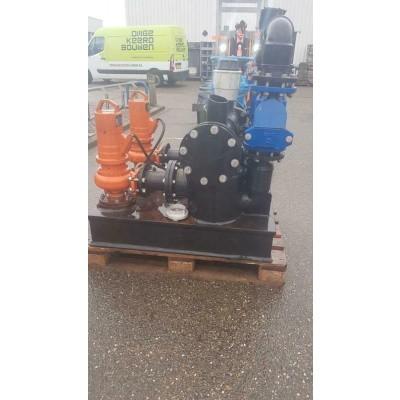 Waterpomp systeem met bezinktank