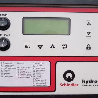 Foto van lift cylinders ALGI, Elmo pomp, Schindler hydraulic