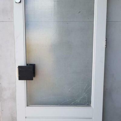 Foto van Hardhouten deur