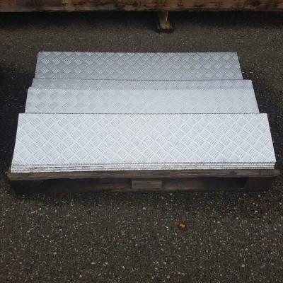 Traanplaat aluminium traptreden