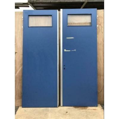 Foto van Openslaande hardhouten deuren