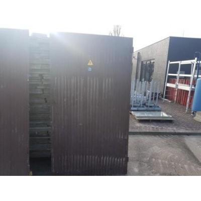 Foto van 1 Industriele aluminium poort