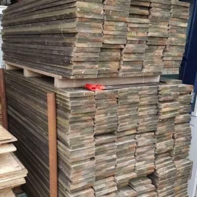 Foto van Platowood houten regels / balkjes en planken redcedar