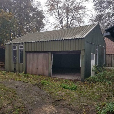Loods hal overkapping garage